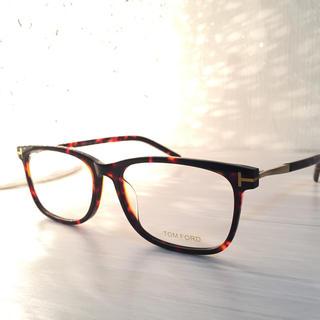 トムフォード(TOM FORD)の売り切り価格 トムフォード  TOMFORD メガネ フレーム 鼈甲色(サングラス/メガネ)