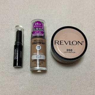 レブロン(REVLON)の【値下げ】REVLON コスメ3点セット(ファンデーション)
