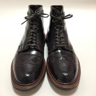Alden - オールデン ウィングチップブーツ サイズ7.5D