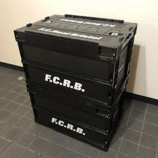 F.C.R.B. - SOPH. FC Real Bristol コンテナ Lサイズ セット 黒 ソフ