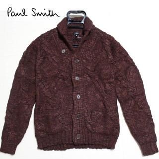 ポールスミス(Paul Smith)の 《ポールスミス》新品 厚手 アルパカ混 ローゲージ ショールカーディガン M(カーディガン)