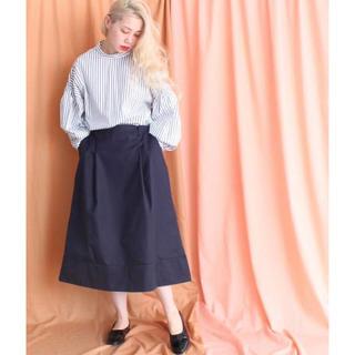 ノートエシロンス(note et silence)の2018SS caph レッジューローヤル ボリュームスカート(ひざ丈スカート)