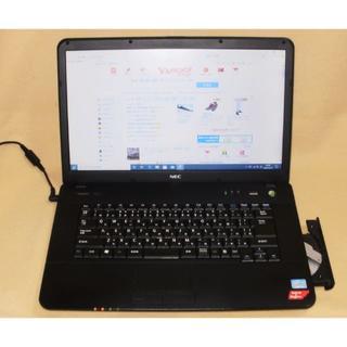 エヌイーシー(NEC)の予約★10月特価★NEC 15型 i3-2370M SSD120G Win10(ノートPC)