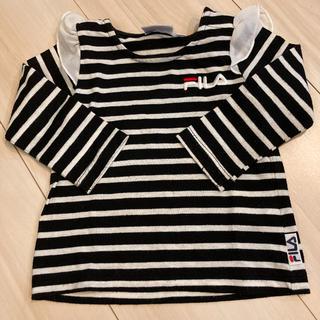 フィラ(FILA)のFILA ボーダーロンT(Tシャツ)