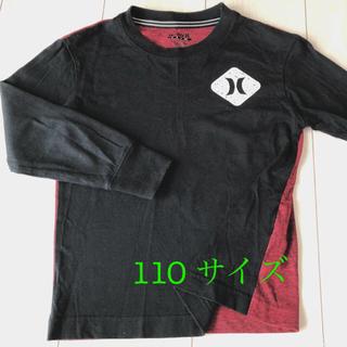 ハーレー(Hurley)の【HURLEY  4歳 5歳 110 バイカラー ロンT】(Tシャツ/カットソー)