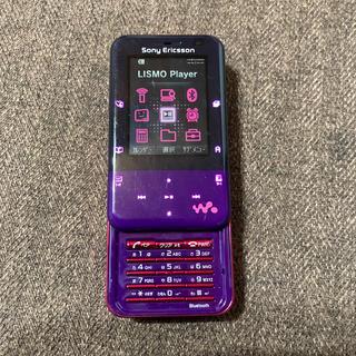 エーユー(au)のau sony W65S walkman phone Xmini(携帯電話本体)