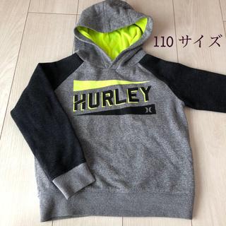ハーレー(Hurley)の【HURLEY 4歳 5歳 110  裏起毛パーカー トレーナー】(Tシャツ/カットソー)