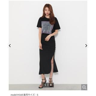 リエンダ(rienda)のギャザーマーメイドスカート(ひざ丈スカート)