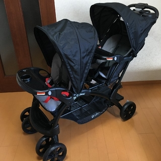 Baby Trend - 【未使用】二人乗りベビーカー SitN'Stand DoubleSTroller