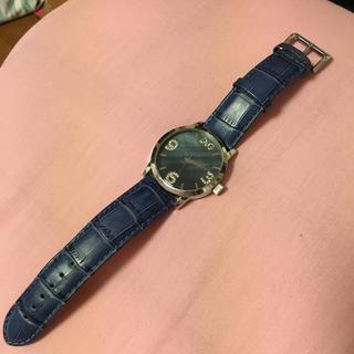ドルチェアンドガッバーナ(DOLCE&GABBANA)の※ドルガバ 時計♡お取り置き(レザーベルト)