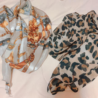 ローリーズファーム(LOWRYS FARM)の値下げ可 スカーフ 2枚セット(バンダナ/スカーフ)