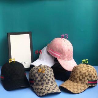 Gucci - GUCCI 2枚10000円送料込み☆ロゴキャップ帽子29