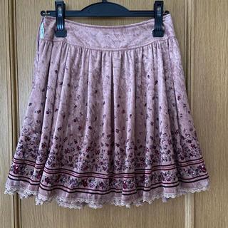 レストローズ(L'EST ROSE)のL'EST ROSE 花柄スカート(ひざ丈スカート)