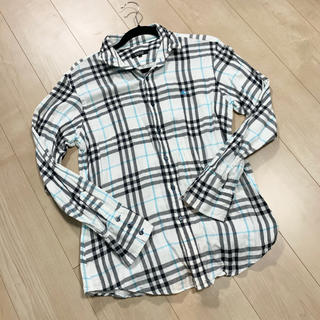 BURBERRY BLACK LABEL - BURBERRY BLACK LABEL チェックシャツ