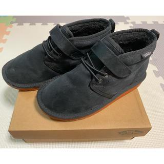 ヴァンズ(VANS)の送料込み☆VANSキッズボアブーツ 黒(ブーツ)