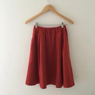 サニーレーベル(Sonny Label)のアーバンリサーチ  サニーレーベル スカート 朱色 オレンジ  赤系(ひざ丈スカート)