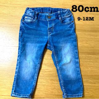 H&M - H&M デニム 80cm ジーンズ ズボン スキニー パンツ キッズ 9-12M