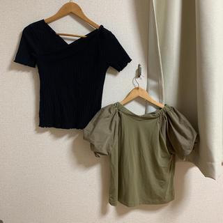ミスティウーマン(mysty woman)のトップスセット(Tシャツ(半袖/袖なし))