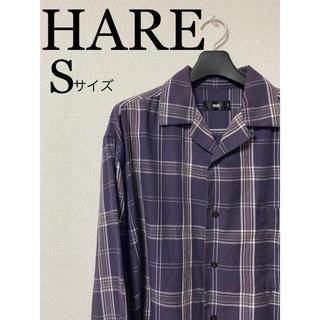 ハレ(HARE)の【HARE】オープンチェックカラーシャツ(シャツ)