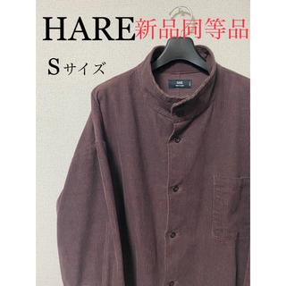 ハレ(HARE)の【HARE】コーデュロイハイネックシャツ(シャツ)