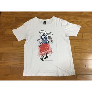 ナンバーナイン(NUMBER (N)INE)の中古ナンバーナイン4赤青白バンダナ柄Tシャツ髑髏ドクロ (Tシャツ/カットソー(半袖/袖なし))