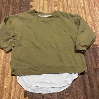 フリークスストア(FREAK'S STORE)のフリークスストア レイヤードトレーナー 130(Tシャツ/カットソー)