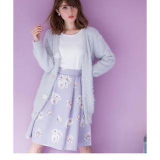 トッコ(tocco)のtocco closet タックグログランスカート(ひざ丈スカート)