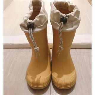 ムジルシリョウヒン(MUJI (無印良品))の【サイズ18㎝】長靴 レインブーツ キッズ 無印良品(長靴/レインシューズ)