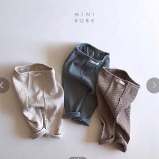 H&M - 新品 ストレッチ ベビーレギンス ブラウン
