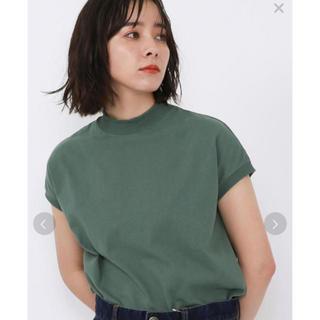 coen - web限定 USAコットンハイネックTシャツ