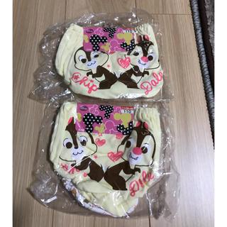 チップアンドデール(チップ&デール)の☆ 新品未使用・チップとデール女児パンツ110 ☆(下着)