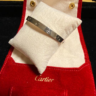 カルティエ(Cartier)のCartier カルティエ ラブブレス WG #18(ブレスレット)