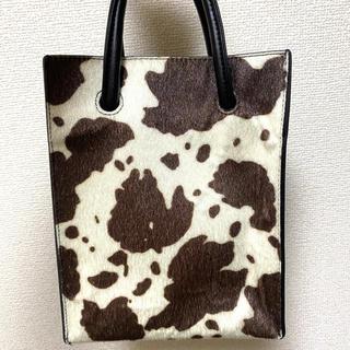ジーナシス(JEANASIS)のJEANASIS 牛柄 ハンドバッグ ショルダーバッグ 2way(ハンドバッグ)