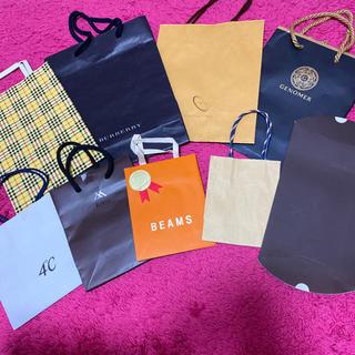 ビームス(BEAMS)のブランド ショッピング袋 ショップ袋 ショッパー 紙袋 まとめ売り(ショップ袋)
