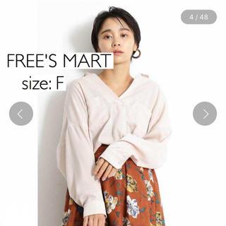 フリーズマート(FREE'S MART)のFREE'S MARTフリーズマート マロンサテンスキッパーブラウス(シャツ/ブラウス(長袖/七分))