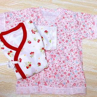 ニシキベビー(Nishiki Baby)のチャックルベビー 短肌着 新品2枚セット(肌着/下着)