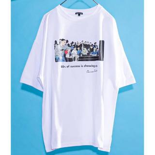 フリークスストア(FREAK'S STORE)のFREAK'S STORE 半袖Tシャツ ホワイト XL(Tシャツ/カットソー(半袖/袖なし))