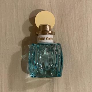 ミュウミュウ(miumiu)のmiu miu ローブルーオードパルファム 香水 50ml(香水(女性用))