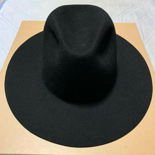 Borsalino - Etudes Studio MIDNIGHT HAT Black 57cm