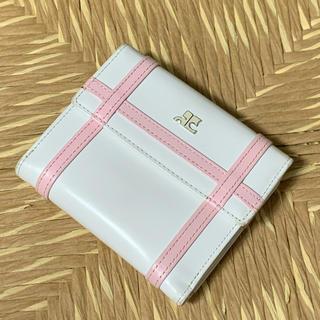クレージュ(Courreges)のクレージュ 折りたたみ財布(財布)