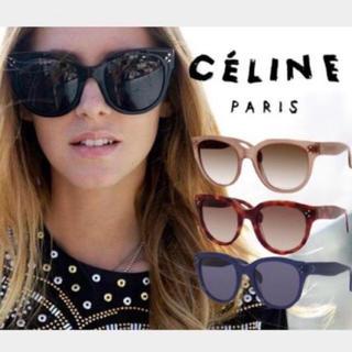 celine - 美品 セリーヌサングラス AUDLEY ネイビー