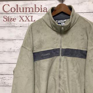 コロンビア(Columbia)のColumbia 一点物 くすみ系カラー ジップアップフリース XXL(その他)