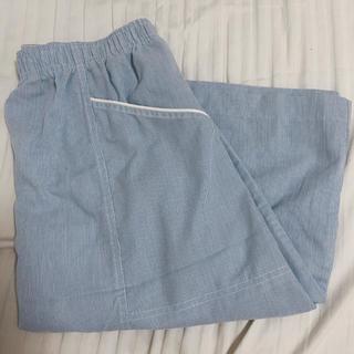 膝上スカート ストライプ(ひざ丈スカート)