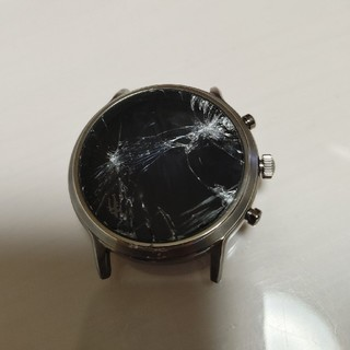 フォッシル(FOSSIL)のfossil gen5 スマートウォッチ 画面割れ ジャンク(腕時計(デジタル))