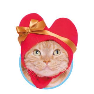 サンリオ(サンリオ)の【いいね要りません】かわいい ねこハートちゃん カプセルトイ(レッド)(猫)