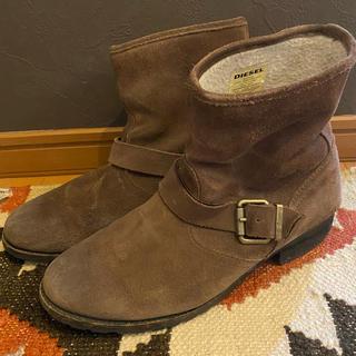 ディーゼル(DIESEL)のDIESEL ショートボアブーツ size25.5(ブーツ)