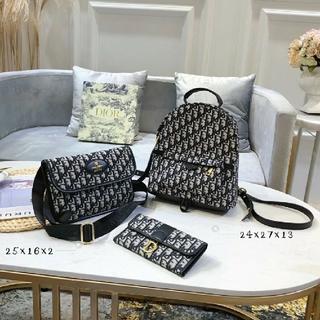 クリスチャンディオール(Christian Dior)のクリスチャンディオール リュック ショルダーバッグ 長財布 セット(リュック/バックパック)