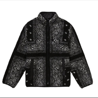 シュプリーム(Supreme)のsupreme bandana fleece jacket  (ブルゾン)