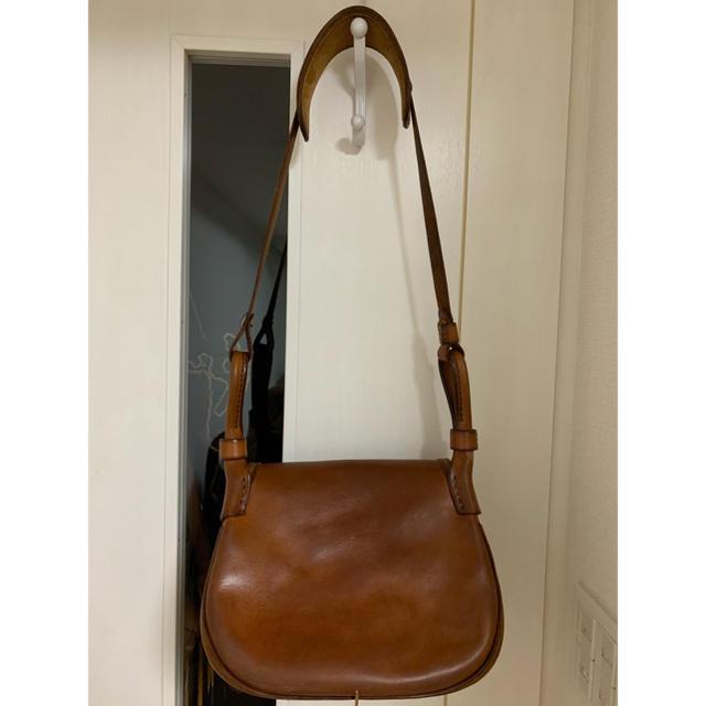 goro's(ゴローズ)のgoros ゴローズ ハンティングバッグ赤茶 メンズのバッグ(ショルダーバッグ)の商品写真