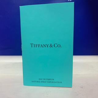 ティファニー(Tiffany & Co.)のTiffany & Co. ティファニー オードパルファム サンプル1.2ml(香水(女性用))